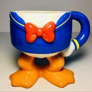 Disney Rare (bow-tie on) Collector Donald Duck mug